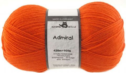 ADMIRAL autumnal orange 0891